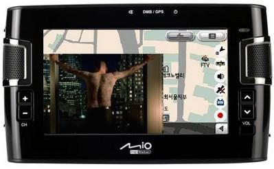 Навигационная система Mio C317  с ТВ модулем