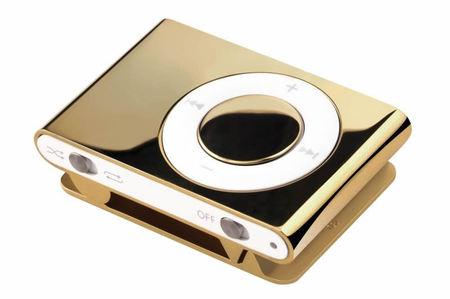 iPod в золоте
