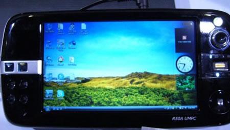 R50A — новый UMPC от Asus