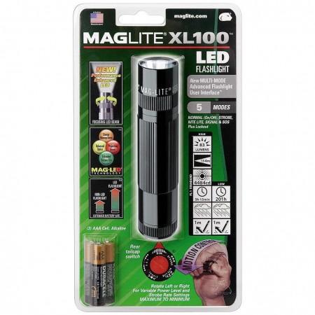 Maglite XL100 с регулировкой светового потока