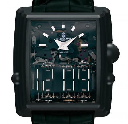 De Grisogono Meccanico dG: симулятор цифровых часов