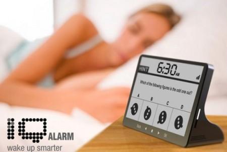 IQ Alarm Clock. Разбудит ваш мозг