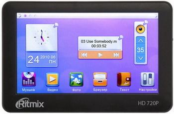 Компанией Ritmix анонсирован плеер RP-400HD