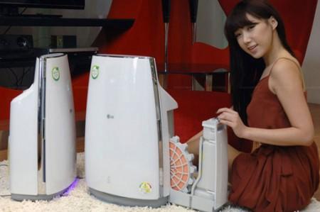 LG LA-U110DW: очиститель воздуха 3-в-1