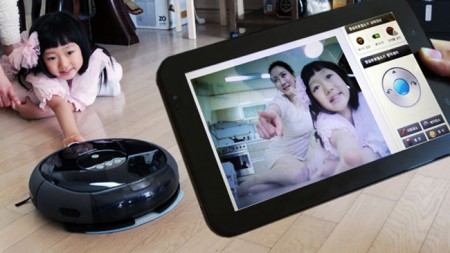 Samsung выпустил робо-пылесос со встроенной видеокамерой