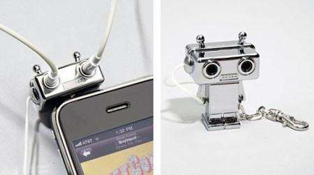 Robot Headphone Splitter делится музыкой