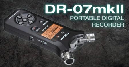 TASCAM DR-07mkII — портативный диктофон