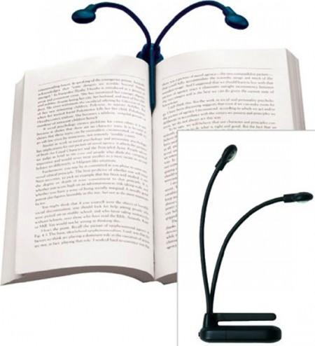 Hydra: миниатюрная лампа для чтения книг