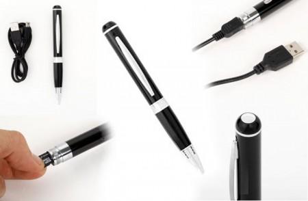 Ручка Spy Pen с датчиком движения и возможностью записи видео в высоком разрешении