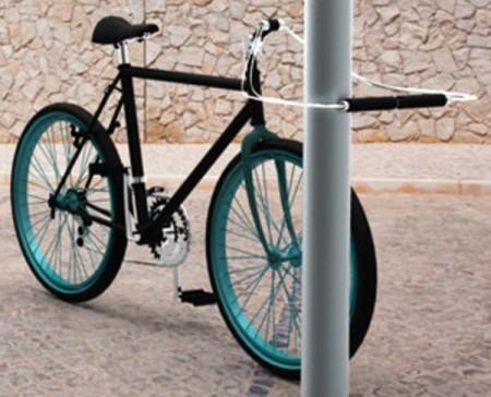 Руль-замок для велосипеда