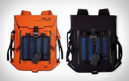 Рюкзак на солнечных батареях от Ralph Lauren