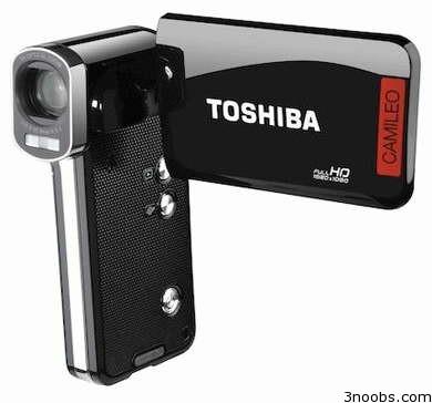 Компактный камкордер Toshiba Camileo P100