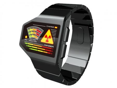 Tokyoflash представила концепт часов Radiation Level LED