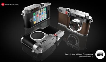 Leica объединит iPhone и профессиональный фотоаппарат