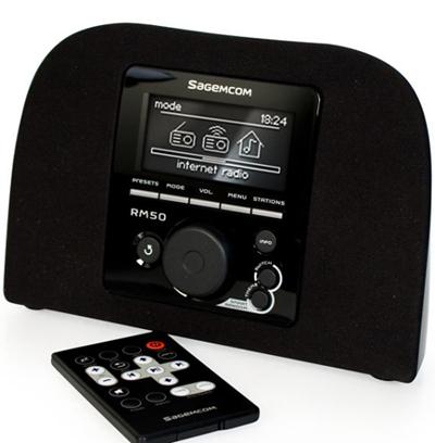Интернет радио SagemCom RM50