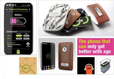 Смартфон Revive: концепт обновляемого телефона