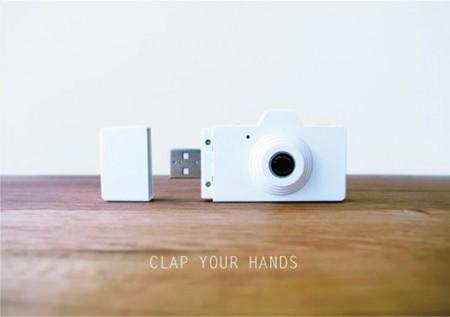 Миниатюрная цифровая фотокамера Powershovel CLAP