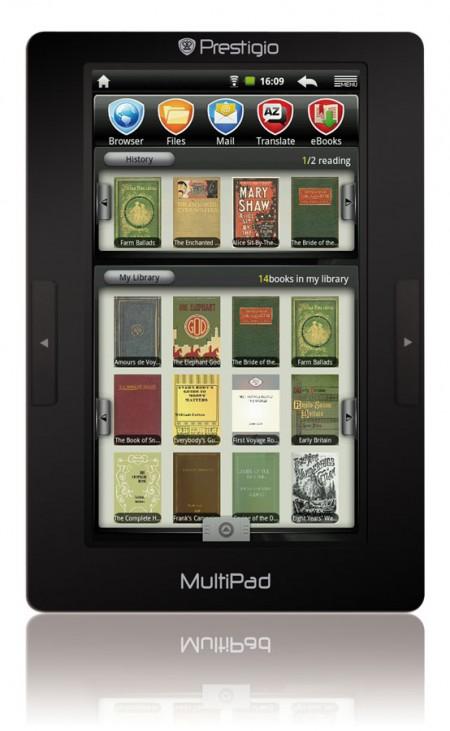 Prestigio представляет многофункциональное мультимедийное устройство MultiPad  3074B