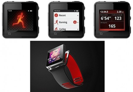 Motorola создает гибрид iPod nano, Nike+ и Garmin Forerunner