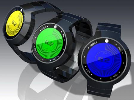 Концепт LCD-часов с защитой от излучения солнца