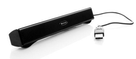 Verbatim Portable USB Audio Bar добавит ноутбуку музыкальности