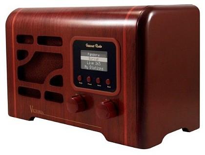 Hi-tech радио в винтажном стиле