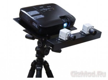3D scanner made from Russia