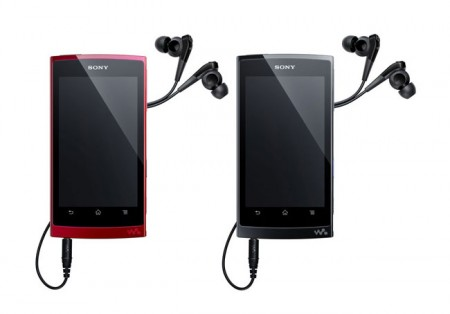 Sony официально представила Android Walkman Z Series
