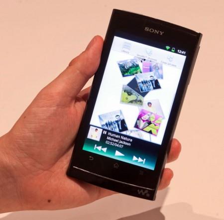 Sony показала прототип плеера Walkman на базе Android