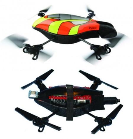 Хакеры создали AR.Drone-спаммера