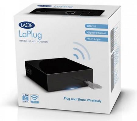 LaCie LaPlug превращает USB-накопители в «облачные хранилища