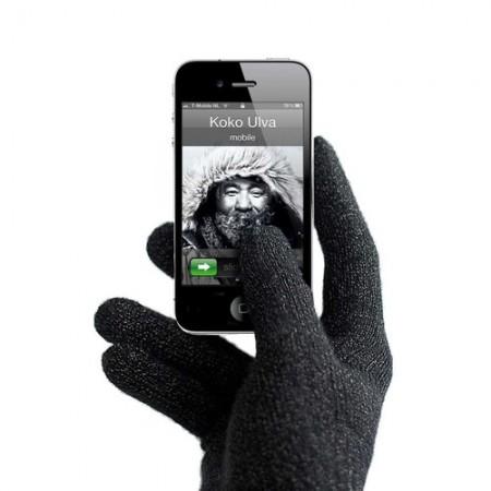 Перчатки Mujjo для сенсорных дисплеев