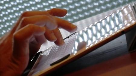 TouchFire позволит воссоздать физическую клавиатуру на iPad 2