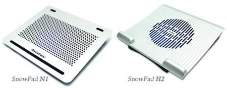 Стильные подставки для охлаждения ноутбука GlacialTech SnowPad N1 и H2 поступили в продажу