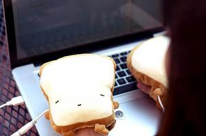 Забавные тосты USB Toast Handwarmers