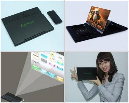 LightPad G1 превращает смартфон в ноутбук