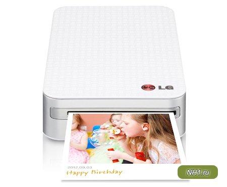 Портативный принтер от LG