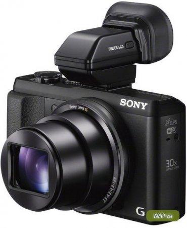 Cyber-shot DSC-HX50V - легкий и компактный цифровик от Sony