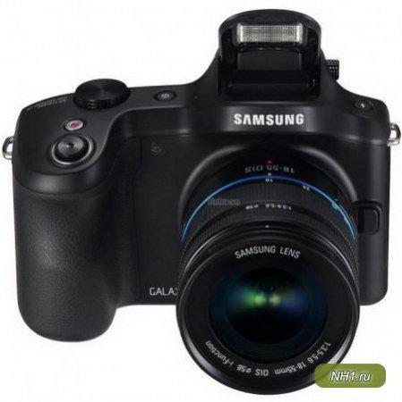 Samsung представила цифровую DSLR-камеру второго поколения на базе Android модели Galaxy NX
