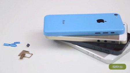 Внешний вид iPhone 5S и iPhone 5C обнародован